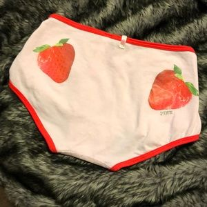 Brand new limited edition strawberry underwear